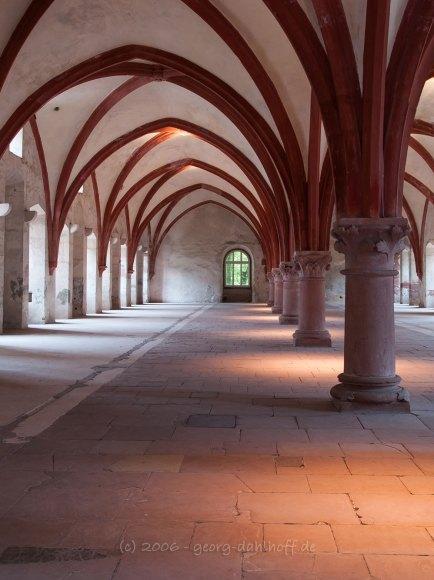 Kloster Eberbach: Dormitorium - Bild Nr. 200610218323