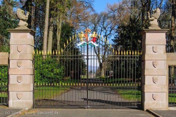 Tor von Glamis Castle - Bild Nr. 201403232563
