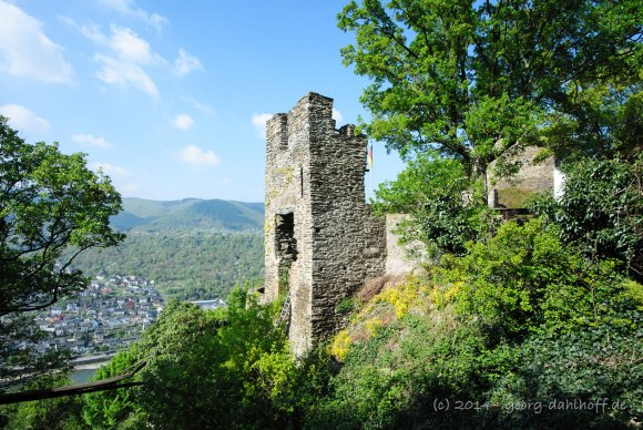Burg Liebenstein im Oberen Mittelrheintal - Bild Nr. 201404132830