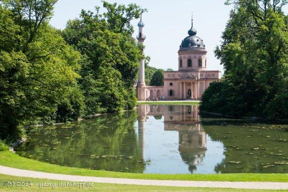Moschee im Schlossgarten Schwetzingen - Bild Nr. 201406090701