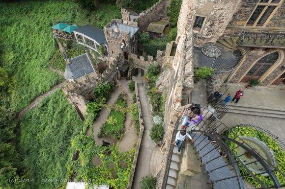 Burg Rheinstein: Blick vom Rheinturm - Bild Nr. 201409271273