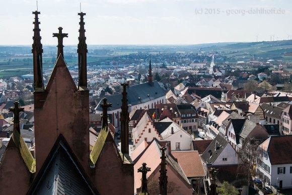 Giebel des südlichen Querhauses, Altstadt - Bild Nr. 201503281817