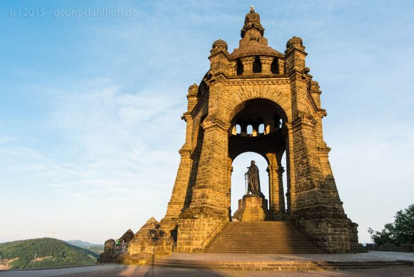 Porta-Westfalic: Kaiser-Wilhelm-Denkmal Bild Nr. 201506124607