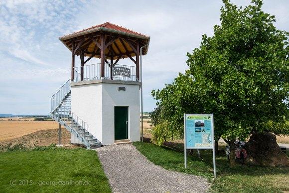 Weinbergsturm auf  dem Lörzweiler Königsstuhl - Bild Nr. 201507122712