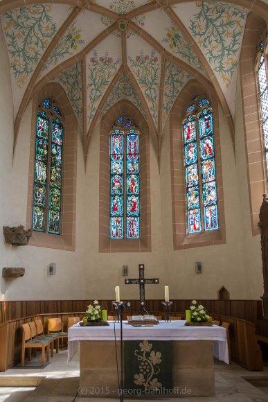 Der gotische Chor der Bergkirche - Bild Nr. 201508292835