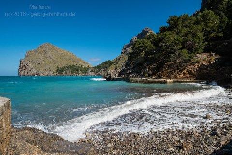 Der Strand von Sa Calobra - Bild Nr. 201603013809