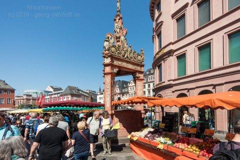 Am historischen Marktbrunnen - Bild Nr. 201605070173