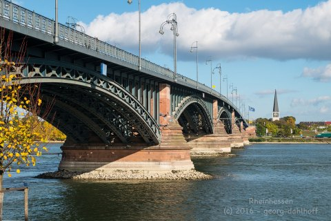 Theodor-Heuss-Brücke - Bild Nr. 201610295407
