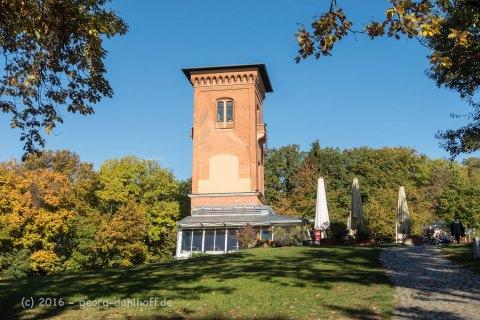 Der Stumpf des Aussichtsturms des ehemaligen Neroberghotel - Bild Nr. 201610300911