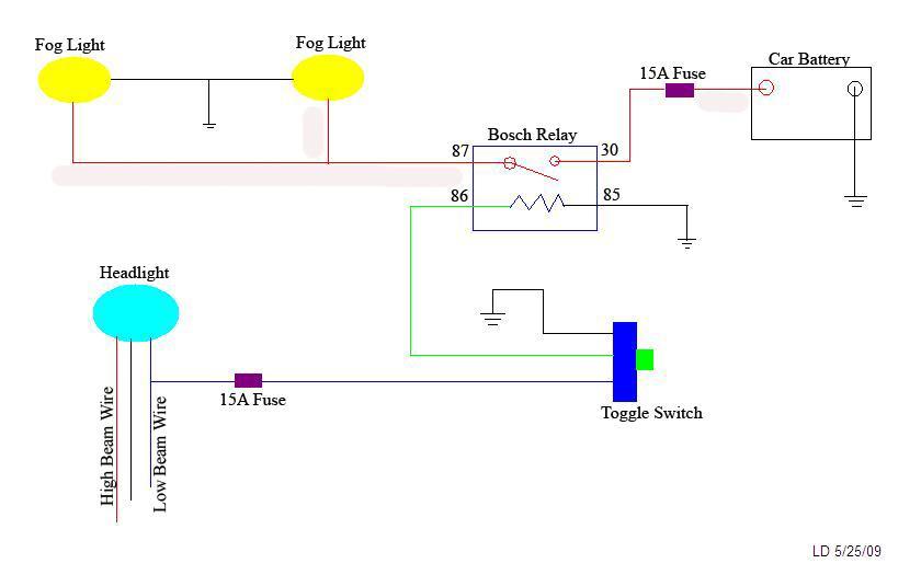 hella 500 wiring diagram tacoma world autos post Hella 12V Relay Wiring Diagram Hella 500 Light Relay