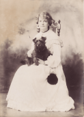 Kittie Calderon and 'Jones' 1899
