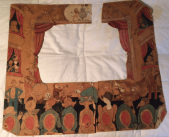 Toy theatre proscenium by George Calderon and C.E. Pym, Christmas 1914