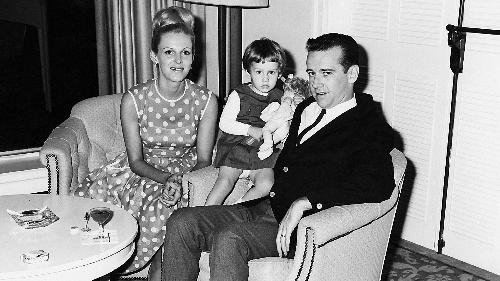 George, his wife Brenda, and only daughter Kelly, born June 15, 1963. George Carlin