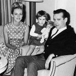 George, his wife Brenda, and only daughter Kelly, born June 15, 1963