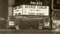 Palace Theater, NYC - George's name in lights