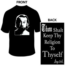 George Carlin Religion T-Shirt
