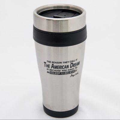 American Dream Stainless Steel Travel Mug
