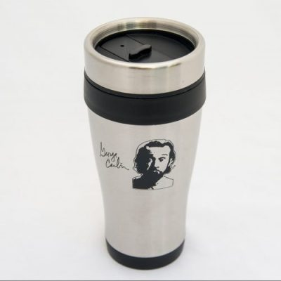 Seven Deadly Words Stainless Steel Travel Mug