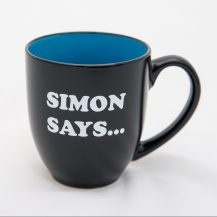 Simon Says Two-Tone Mug