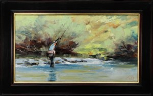 Trappers Lake Outlet Stream 14x25