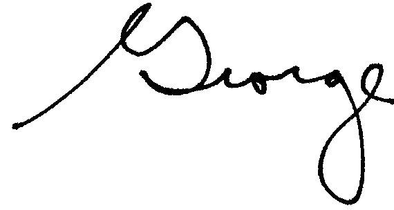 George signature