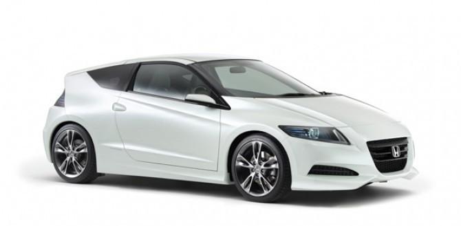 The new Honda CR-Z
