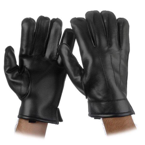 Item Dv Black Vinyl Lined Gloves George Glove Co