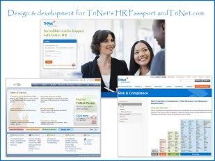 TriNet web/portal design