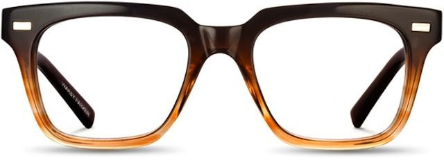 """The """"Winston"""" frame from Warby Parker. Cost: $95."""