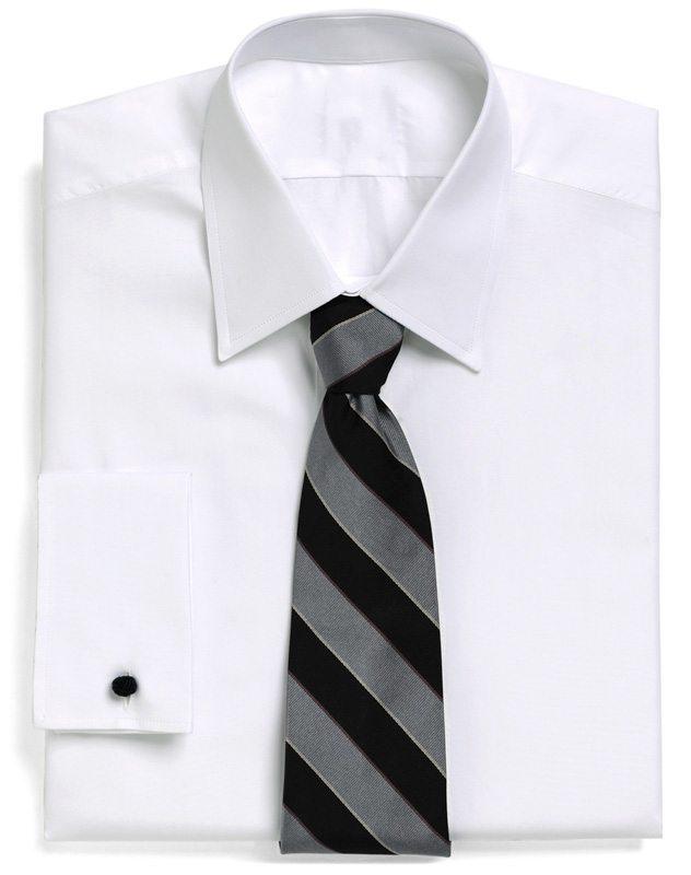 Essentials The Great White Dress Shirt George Hahn