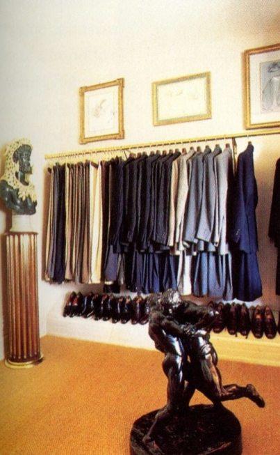 Bill Blass closet