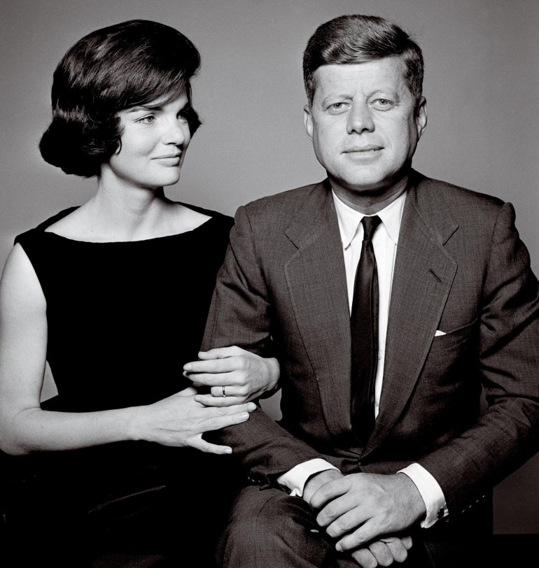 Portrait with Mrs. Kennedy