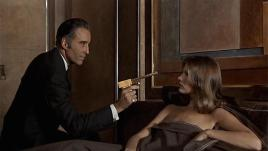 Christopher Lee with Maud Adams