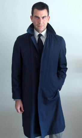 Jim Cutler Coat full-length