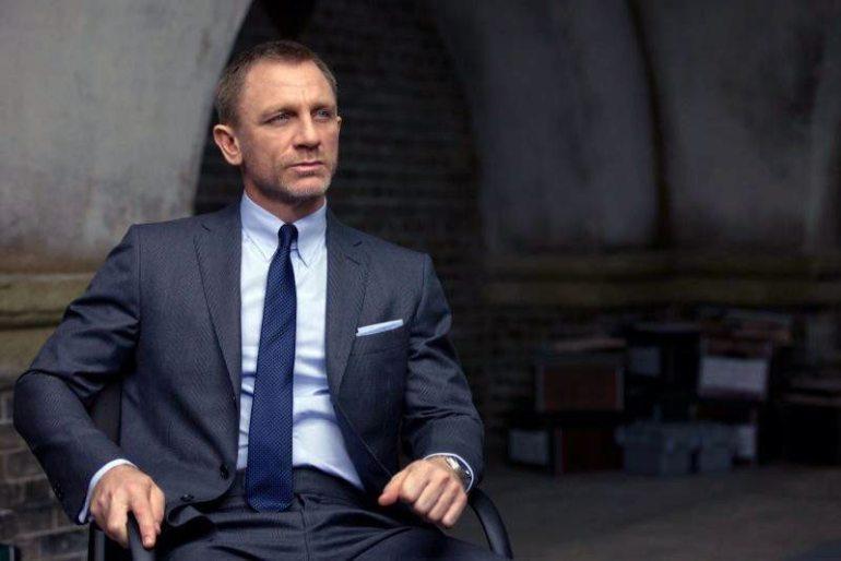Daniel Craig in Skyfall.