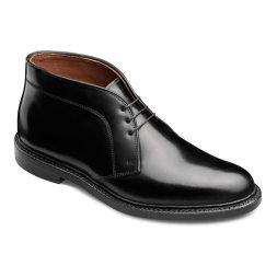 Allen Edmonds Cordovan Dundee Boots in black