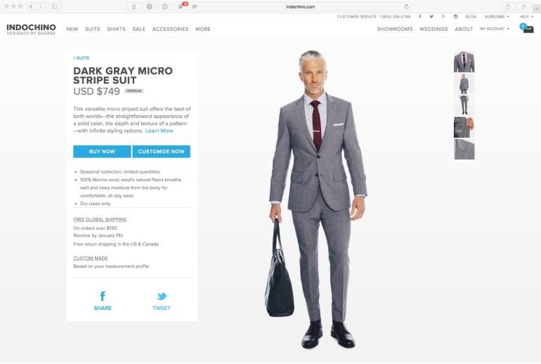 A current suit page.