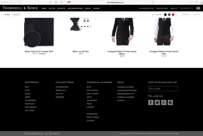 Rebranded bottom of the site with a new footer design.