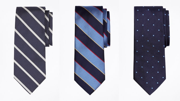 Selections from Brooks Brothers' Made-in-America collection.