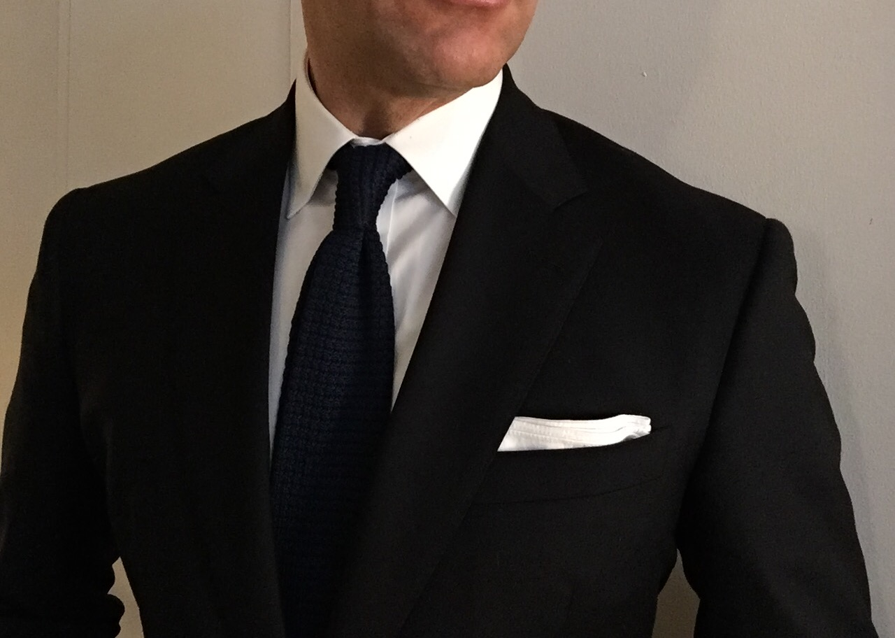 My First Custom Suit from Black Lapel – George Hahn