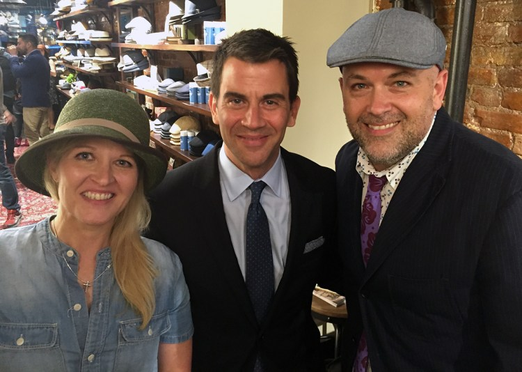 Yours truly with Ann & Andrew Payne, the founders of General Knot & Co.