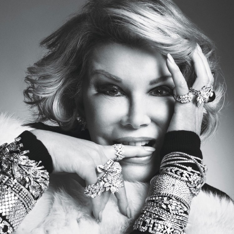 """One of my favorite photos of Joan, taken by Inez & Vinoodh for W Magazine's """"New Royals"""" - October 2014 issue."""
