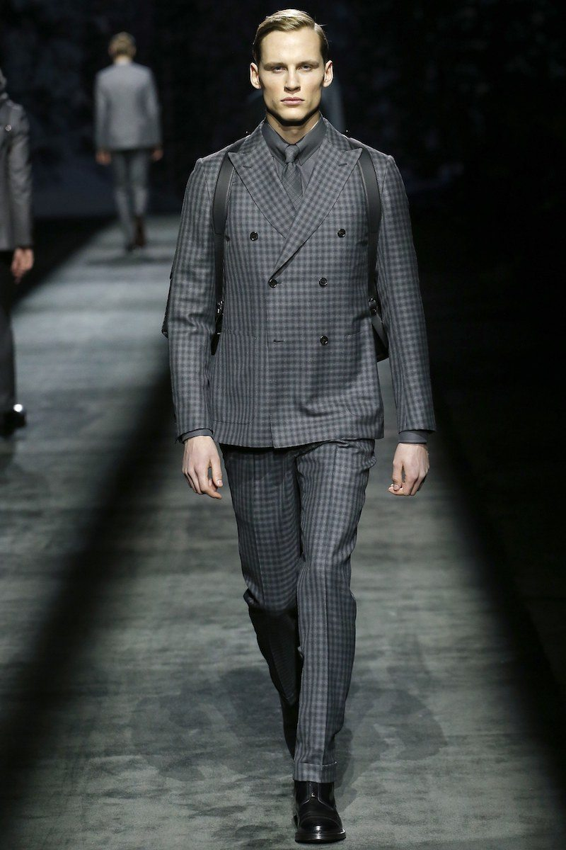 Short jacket (with backpack!) from Brioni, FW2016