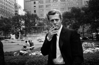 Marcello Mastroianni in New York City.