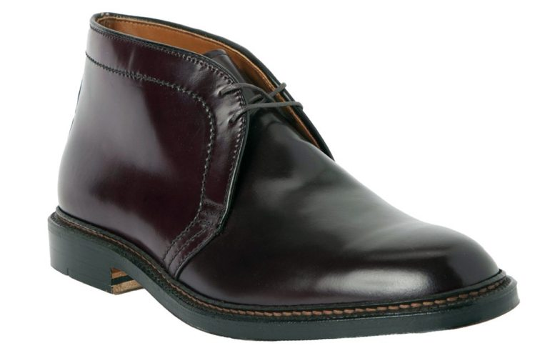 "Alden Shell Cordovan Chukka Boot in ""Color 8"" (burgundy)"