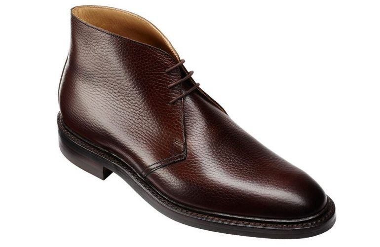 Crockett & Jones Brecon in dark brown country calf.