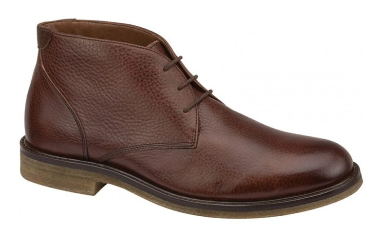Johnston & Murphy Copeland chukka boot in Red Brown Oiled Full Grain.