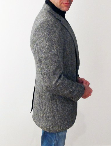 Harris Tweed, from the right