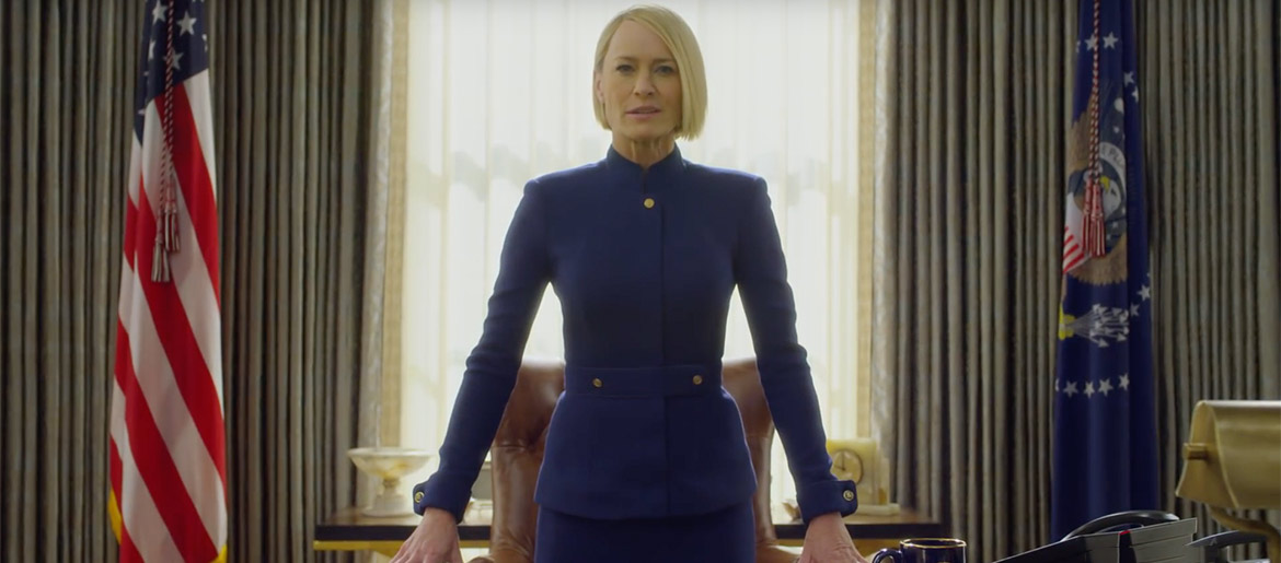 """The Teaser for the Final Season of """"House of Cards"""""""