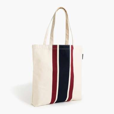 Canvas tote from J.Crew.